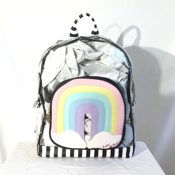 Betsey Johnson Handbags - Luv Betsey By Betsey Johnson, Rainbow Backpack